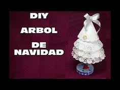 DIY ARBOL DE NAVIDAD RECICLANDO