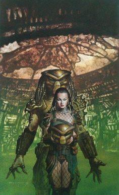Alien Vs Predator, Predator Costume, Predator Cosplay, Predator Movie, Predator Alien, Predator Helmet, Arte Alien, Alien Art, Female Xenomorph