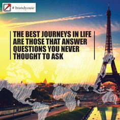 Quotes to inspire from BrandYou.ie  About the journeys in life #inspiration