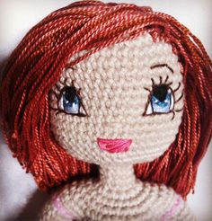 Kindabam Crochet  custom order for a sweet little girl with strawberry blonde hair and blue eyes  #custommadedoll #crochettoys #amigurumi #amigurumidoll #doll #handmadedoll #crochet #crochetersofinstagram #customised