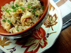 Arroz al Ajillo con Camarones (Garlic Rice With Shrimp)   Hispanic Kitchen