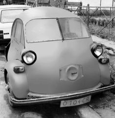 Oszkár Beke's Isetta 236cc 1957 Oszkár Beke built this car after he saw a Isetta. Beke was Hungarian born but lived in Oredea, Rumania. At least this photos were taken in Oredea. (via mrscharroo)