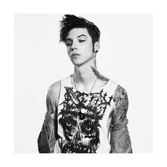 Andy Biersack Obsession ❤ liked on Polyvore featuring andy biersack, bands and black veil brides
