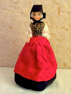 German Odenwald costume doll folk doll vintage by plastickingdom