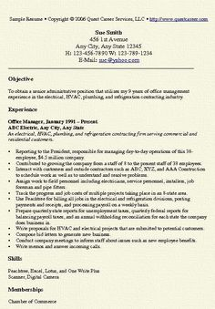 office manager resume example - Sample Office Manager Resume