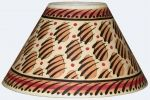 Yellow Paw Print Lampshade