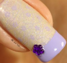 Musings of the Wife of a Jedi: Born Pretty Store: Floral Stamping Plate Nail Art and Review
