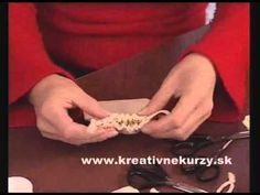 Servítkovanie na textil - Decoupage on fabric - YouTube