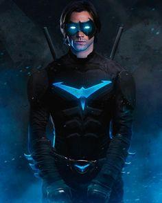 Nightwing / Jared Padalecki!