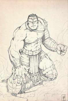 #Hulk #Fan #Art. (World War Hulk Sketch) By:Erdna1. (THE * 5 * STÅR * ÅWARD * OF: * AW YEAH, IT'S MAJOR ÅWESOMENESS!!!™)[THANK Ü 4 PINNING<·><]<©>ÅÅÅ+(OB4E)