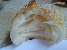 Jednoduché croissanty - My site Bread And Pastries, Camembert Cheese, Food And Drink, Gluten, Homemade, Cookies, Baking, Nova, Basket