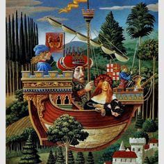 James Christensen's surreal fantasy