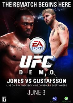 Back in April EA Sports revealed that a demo for their upcoming game, EA Sports UFC, would be released sometime before the game was released...