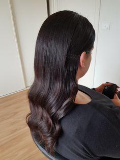 #weddinghair #bridalhair #bridesmaidhair #style #fashion #hairstyle #curls #waves #hair #fashionhair #blowout #brownhair #brunette #melbournesalon #hairsalon #hairstyles