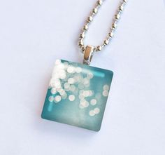 Abstract light photography necklace glass tile by mylittlepixels    #iwant