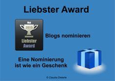 Bild zum Blogeintrag Liebster Award auf http://www.tipptrick.com/2014/05/28/claudias-praktischer-ratgeber-zum-liebster-award/