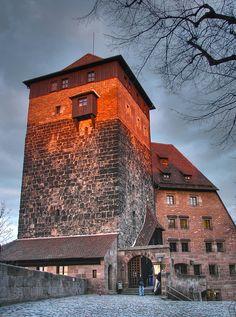 The Pentagonal Tower, Nuremburg, Germany