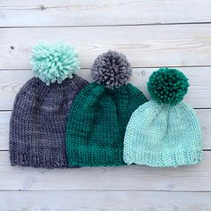 The Backcountry Hat is knit in the round using circular and double pointed needles. The pattern is very simple, perfect for beginning knitters. It knits up lightning fast and makes a great last minute gift project. Add stripes, a pom pom or a tassel to jazz it up!