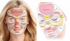 Китайская «карта лица», которая расскажет о том, что беспокоит ваш организм