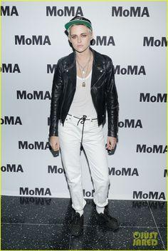 Kristen Stewart Screens Her Short Film 'Come Swim' at the MoMA in NYC | kristen stewart screens her movie come swim at the moma in nyc 06 - Photo