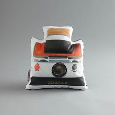 Land Camera Pillow now featured on Fab.