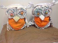 I made. Nappy Cakes, Owls, Owl, Tawny Owl