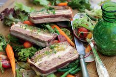 Pork & chicken terrine