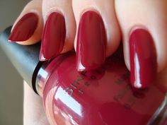Sinful Colors Get It On, with top coat *click for more*