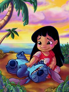 Lilo and Stitch Tummy Rubs by kcday.deviantart.com on @DeviantArt