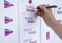 Acumen Design were briefed to create a new sub-brand called Moving Forward, which would help clarify this change of strategy visually. Best Adverts, Sub Brands, Moving Forward, Case Study, Breast Cancer, Branding, Change, Create, Projects