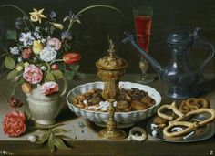 Still Life With A Late Ming Ginger Jar