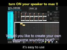 Dr Drum Professional Beat Software
