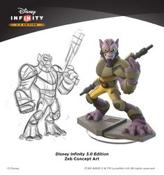 In an exclusive interview, Lucasfilm's Hez Chorba and Avalanche Software's Jeff Bunker discuss making Star Wars Rebels toys for Disney Infinity 3.0 Edition.