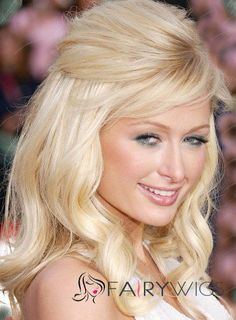 Can't stand Paris Hilton but like her hair. Can't stand Paris Hilton but like her hair. Bump Hairstyles, Square Face Hairstyles, Pretty Hairstyles, Formal Hairstyles, Wedding Hair Half, Bridal Hair, Homecoming Hairstyles, Wedding Hairstyles, Bridesmaids Hairstyles