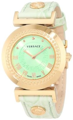 Versace Women's P5Q80D220 S220 Vanitas Rose Gold Ion-Plated Stainless Steel Watch