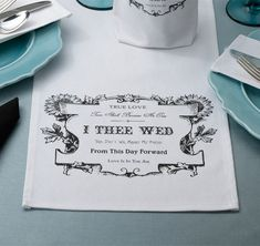 Show your love to each other with this True Love Table Runner.  Table runner features romantic sayings that are bordered with beautiful daisies and a leaf design.  #weddingdecorations