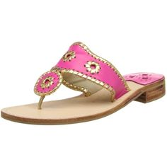 Jack Rogers Women's Nantucket Gold Thong Sandal ($65) ❤ liked on Polyvore featuring shoes, sandals, flat thong sandals, stacked heel sandals, gold thong sandals, toe thongs and toe post sandals