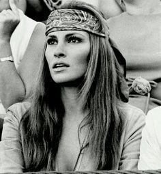 Raquel Welch, linda de morrer, nos anos 70.