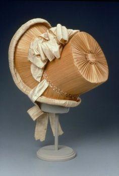 Bonnet. About 1815. French. @⸬  e m e r e y ⸬ barbara moffett of Fine Arts, Boston