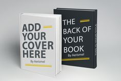 create a realistic 3D book with your flat cover by aerismel