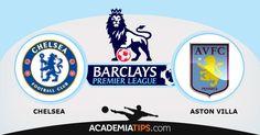Chelsea x Aston Villa – Premier League O Chelsea continua a sua caminhada imparável na Premier League, após 5 jornadas é o líder indiscutível, ainda sem conhecer o sabor da derrota e estará moralizado após um empate fora de portas frente ao seu opositor mais directo, o Manchester City. O seu adversário será o Aston Villa, que se encontra no 3º posto, sendo que vem de uma derrota em casa por 0-3 frente ao Arsenal.