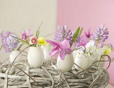 Ausgepustete Eier Blumentöpfe Ideen Selberbasteln Osterdeko Ideen