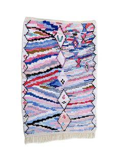 """79""""X50"""" Handwoven moroccan rug boucherouite, handmade moroccan rug, floor rug boucherouite, colorful  boucherouite rug, moroccan rugs,"""