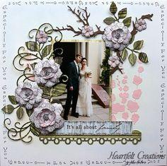 Heartfelt Creations   Vintage Floret Layout
