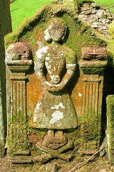 scottish tombstones | Tombstone - Durisdeer, Scotland.