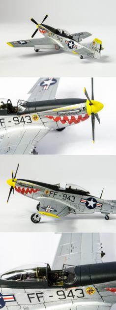 Korean War Airfix F-51 Mustang, 1:72 scale  http://www.network54.com/Forum/47751/message/1388941925/Airfix+F-51+Mustang