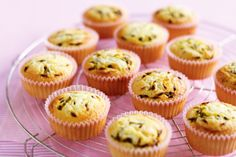 Lemon passionfruit cakes: GF, loosely FM ~almond meal