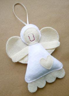 Custom Listing For Nicola - Felt Christmas Decorations. £30,00, via Etsy.