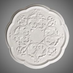 Ceiling Rose 217 Low Relief Leaf - Ossett Mouldings Ltd Ceiling Rose, Acanthus, Decorative Plates, Roses, Leaves, Personalized Items, Design, Home Decor, Decoration Home
