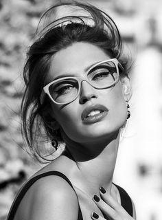 Square Oversized Glasses